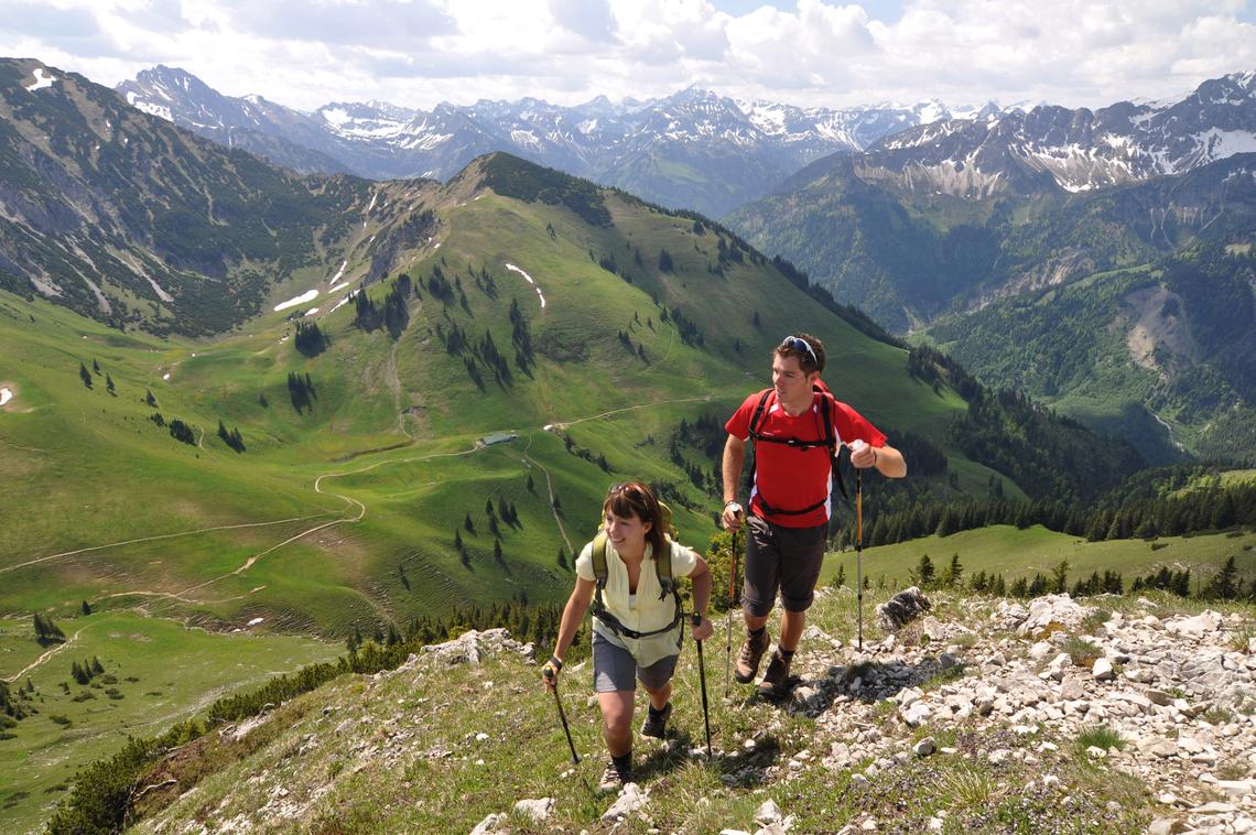Bio Hotel Mattlihüs: Wandern in Oberjoch