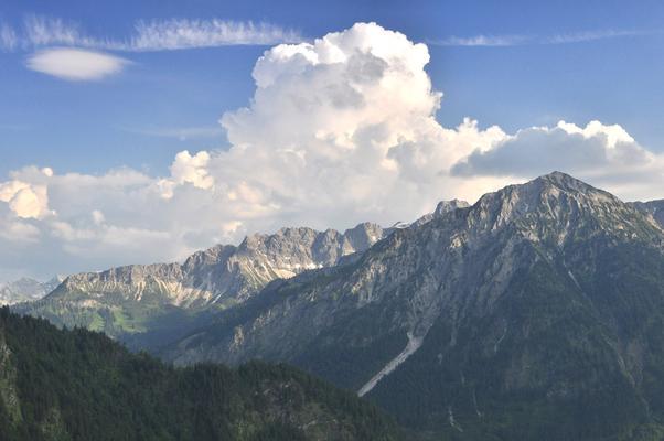 Wandern in Oberjoch