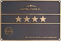 Deutsche Hotelklassifizierung 2017 4-Sternen