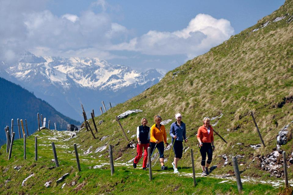 Walking Hirschalpe