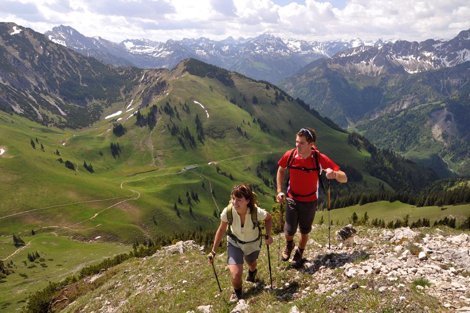 Wandergebiet Iseler Oberjoch