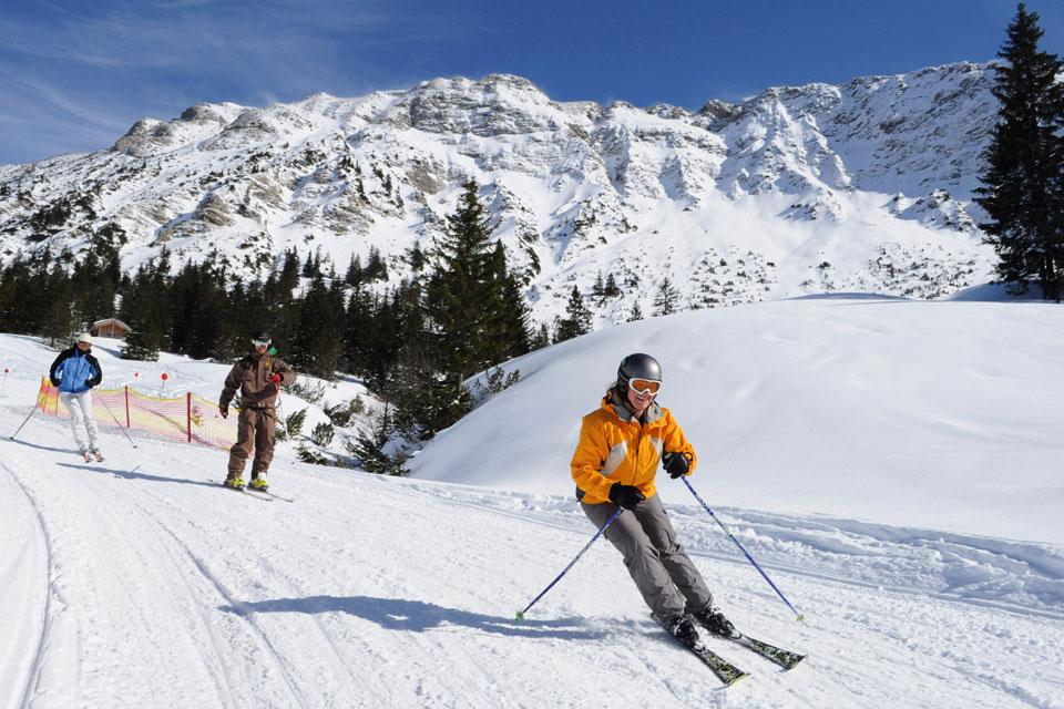 Bio Hotel Mattlihüs: Skifahren im Oberjoch