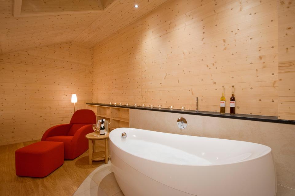 Bio Hotel Mattlihüs: Galerie Suite Holz100