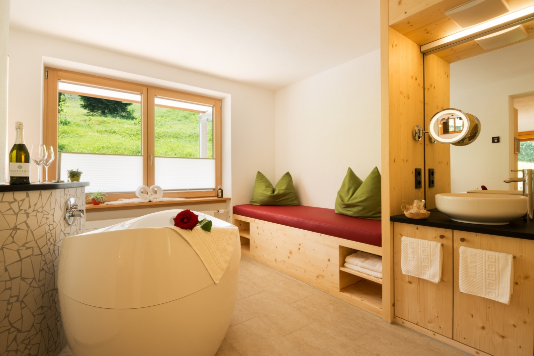 Mattlihüs Wellness Suite Zirbe & Lehm