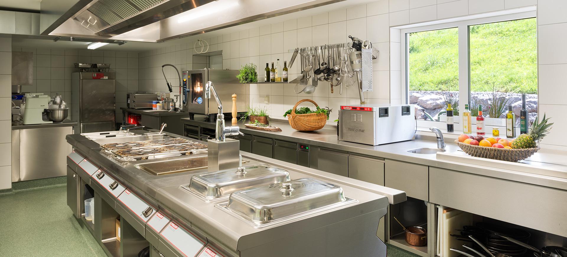 Biohotel Mattlihüs Küche