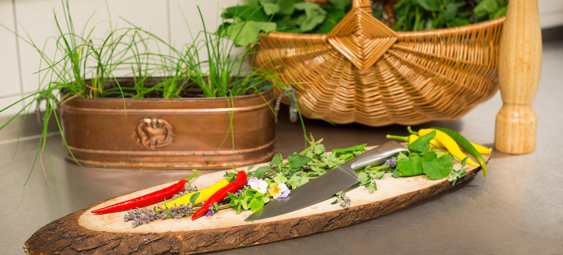 Kräuter aus dem Mattlihüs Garten